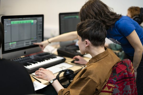 sharing music tech skills
